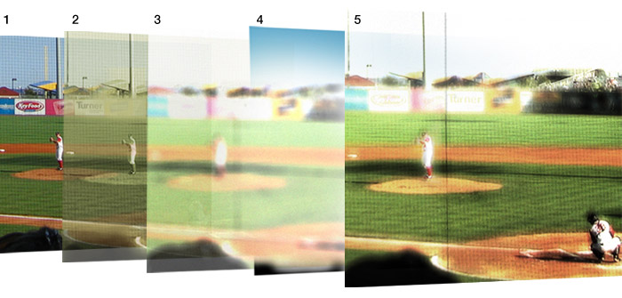Brooklyn Cyclones | photo and composite by Sarah Malone